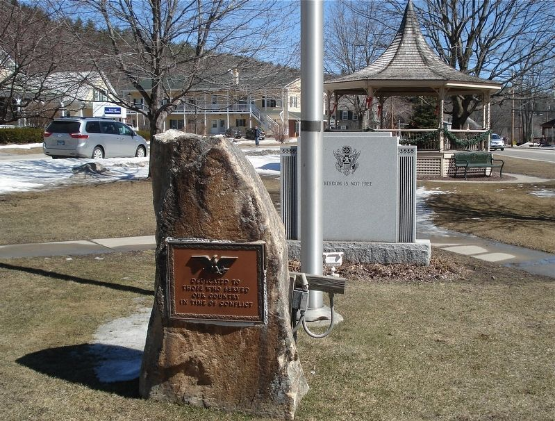 A second Veteran's Memorial Park marker image. Click for full size.
