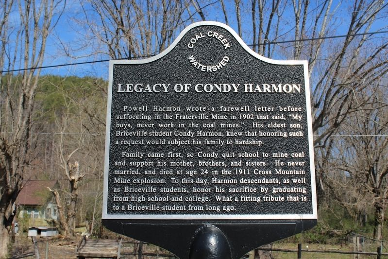Legacy of Condy Harmon Marker image. Click for full size.