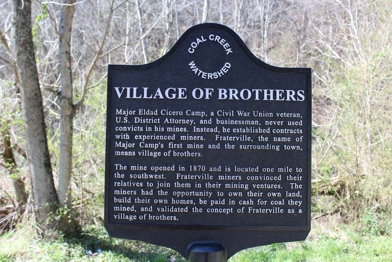 Village of Brothers Marker image. Click for full size.