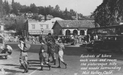 Mill Valley Railroad Depot image. Click for full size.