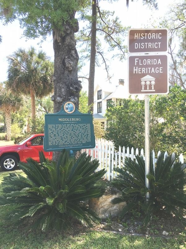 Middleburg Marker image. Click for full size.