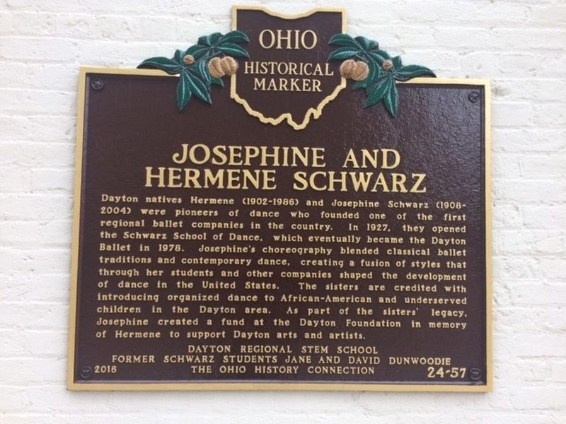 Josephine and Hermene Schwarz Marker image. Click for full size.