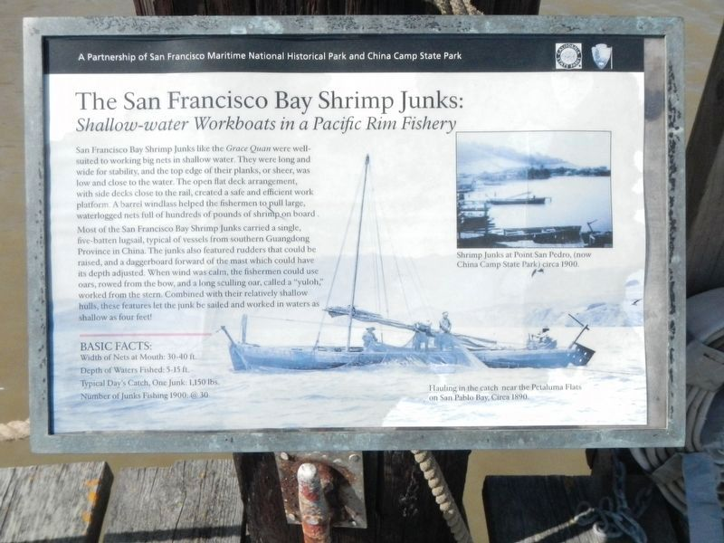 The San Francisco Bay Shrimp Junks: Shallow-water Workboats in a Pacific Rim Fishery image. Click for full size.