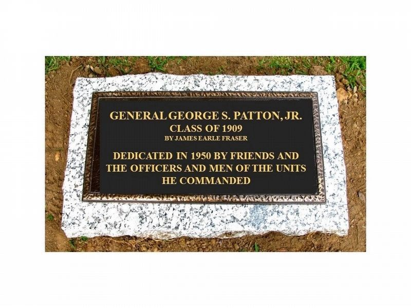 Proposed General George S. Patton, Jr. Marker image. Click for full size.