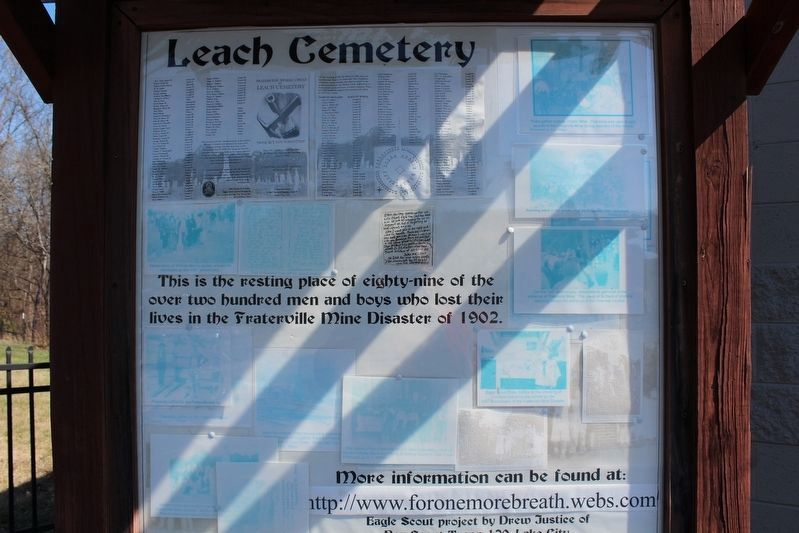 Leach Cemetery image. Click for full size.