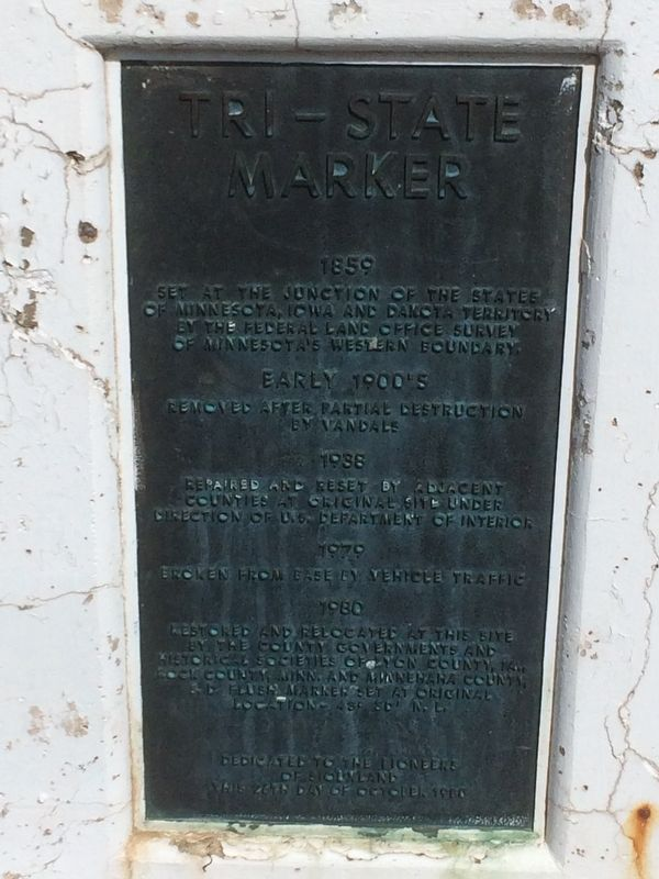 Tri-State Marker Marker image. Click for full size.