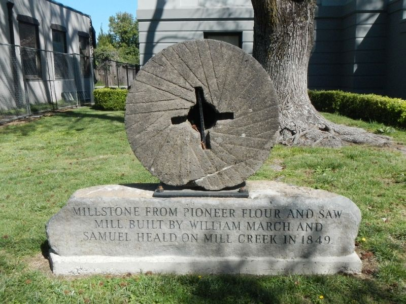March/Heald Flour Mill Marker image. Click for full size.