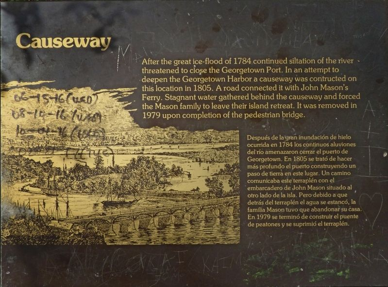 Causeway Marker image. Click for full size.
