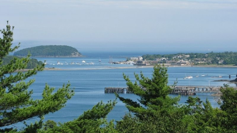 Frenchman Bay on a Clear Day (Bar Harbor view) image. Click for full size.