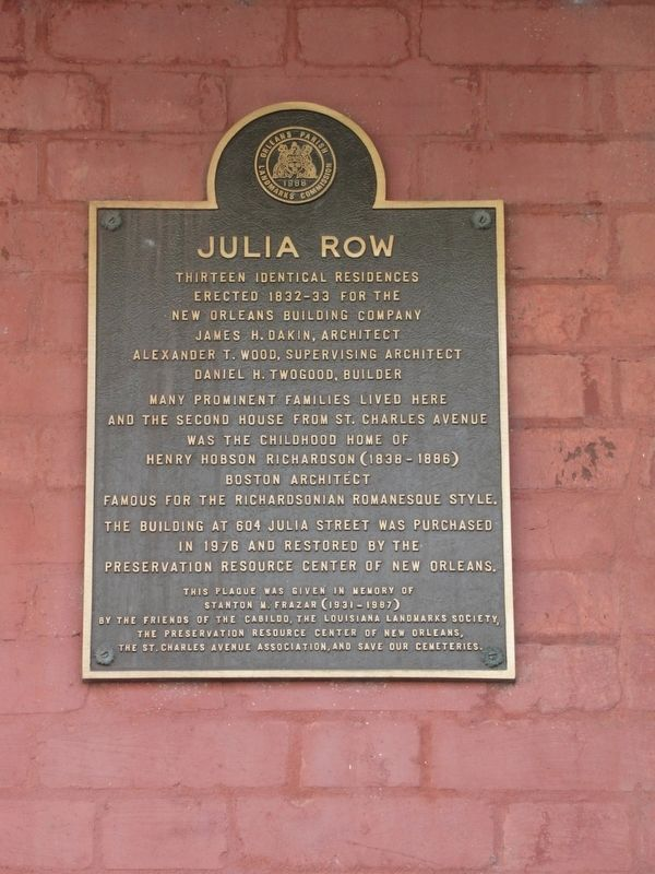 Julia Row Marker image. Click for full size.
