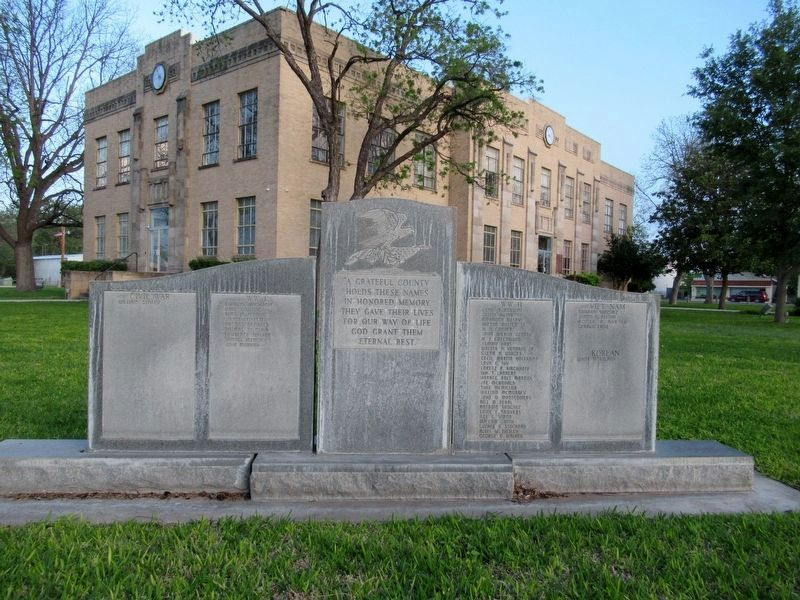 Kimble County Veterans Memorial image. Click for full size.