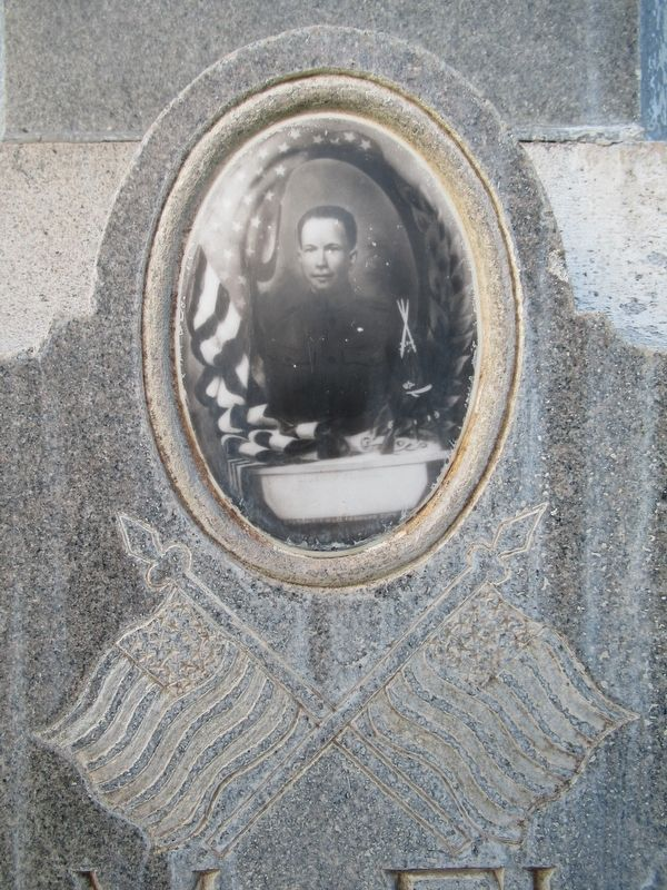 Photo of Burt M. Fleming on the Memorial image. Click for full size.
