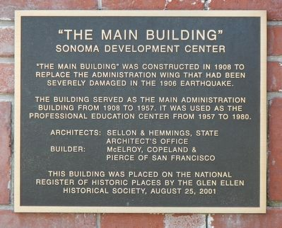 """The Main Building"" Marker image. Click for full size."