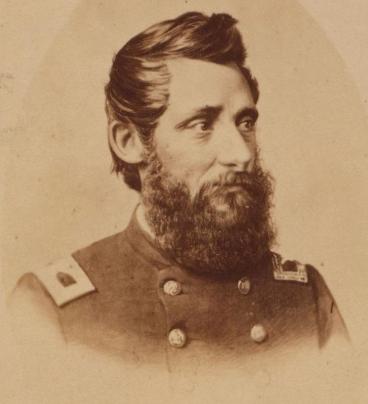 Major General Benjamin Henry Grierson. image. Click for full size.