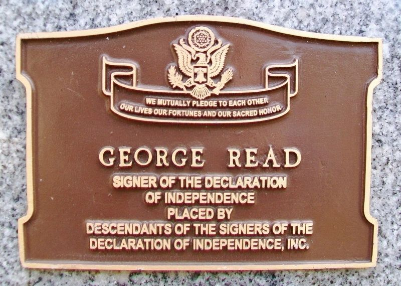 George Read Marker image. Click for full size.