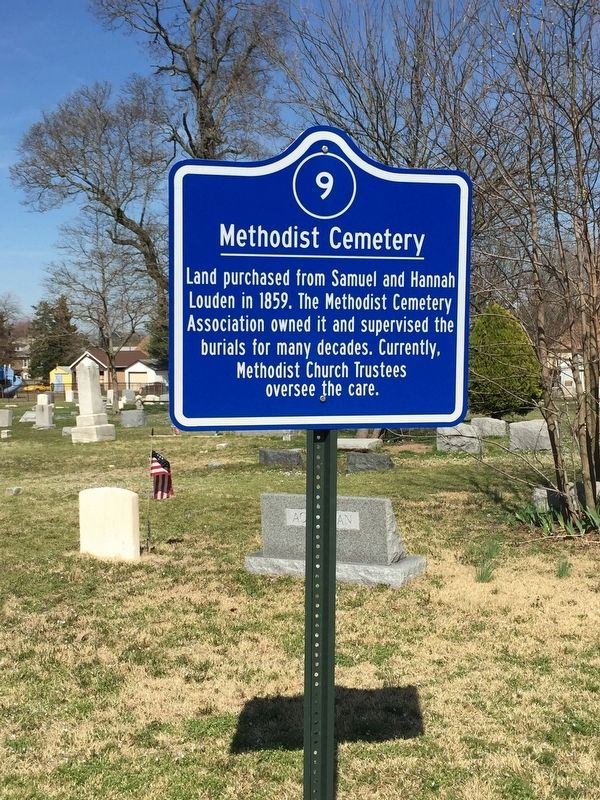 Methodist Cemetery Marker image. Click for full size.