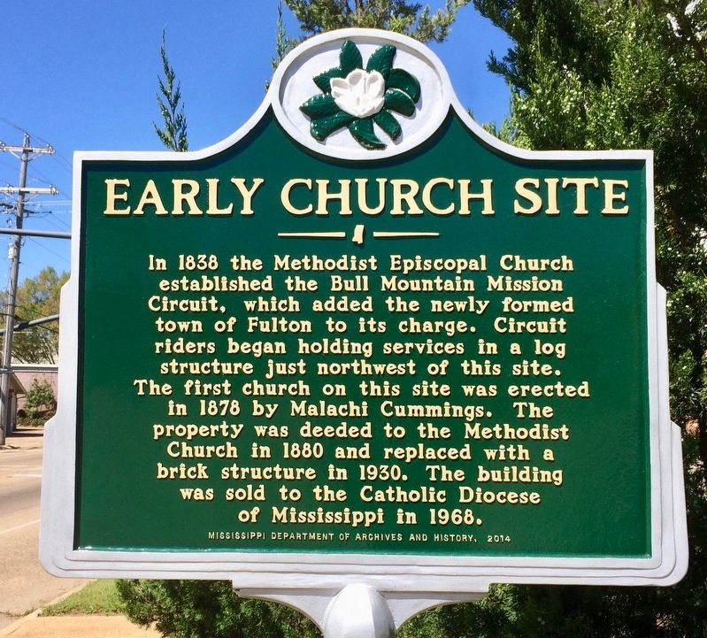 Early Church Site Marker image. Click for full size.