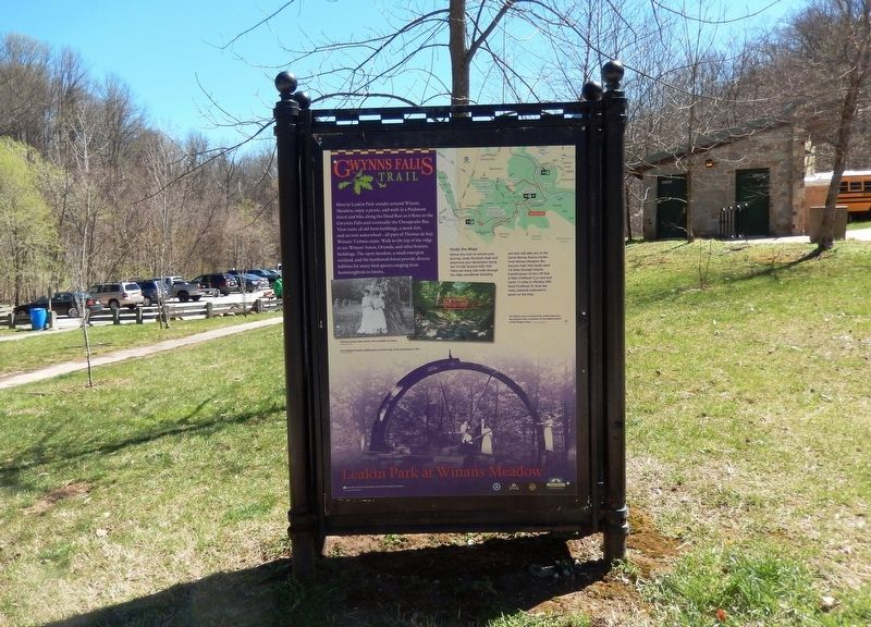 Leakin Park at Winans Meadow Marker image. Click for full size.