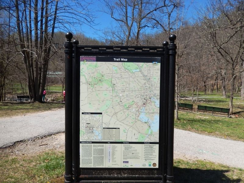 Leakin Park at Winans Meadow Marker-Reverse side image. Click for full size.
