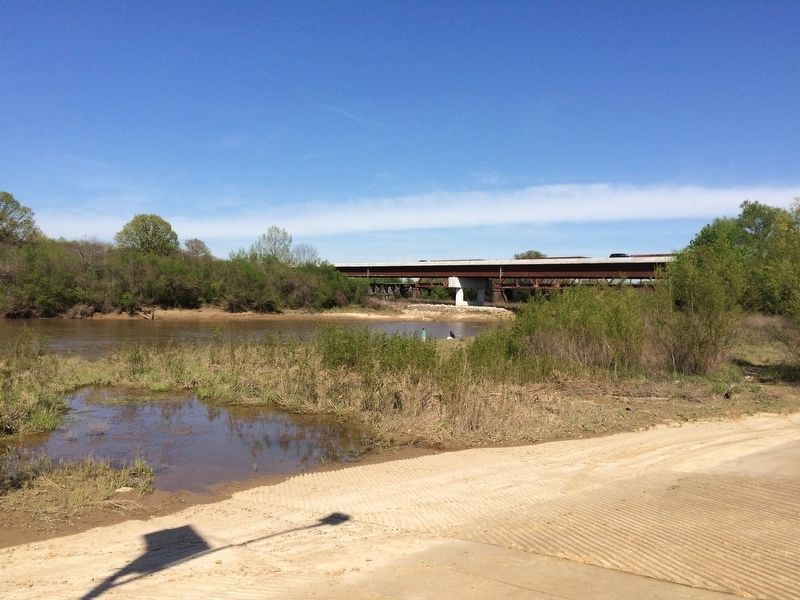 Little Tallahatchie River under the Highway 7 bridge. image. Click for full size.