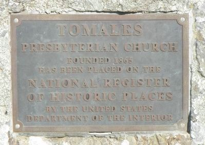 Tomales Presbyterian Church Marker image. Click for full size.