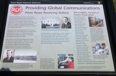 Providing Global Communications Marker image. Click for full size.