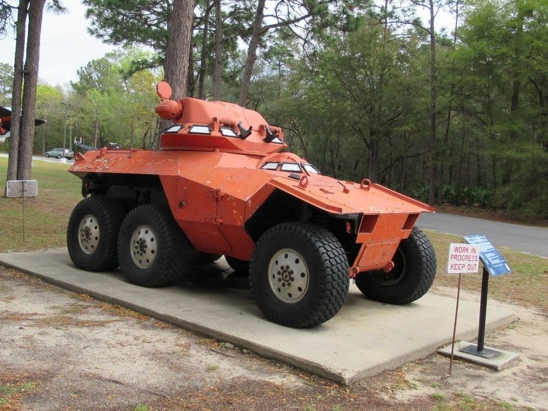 XM-800 Armored Reconnaisance Scout Vehicle & Marker image. Click for full size.