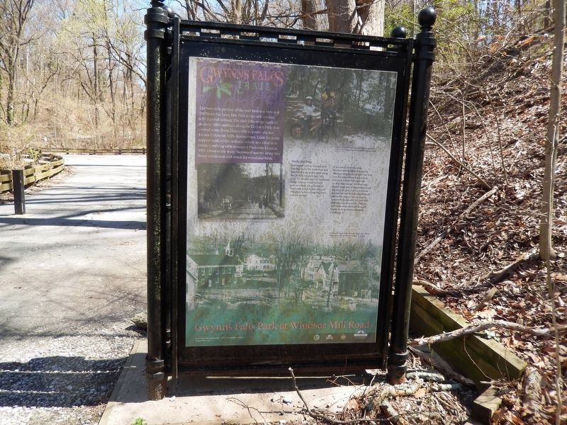 Gwynns Falls Park at Windsor Mill Road Marker image. Click for full size.