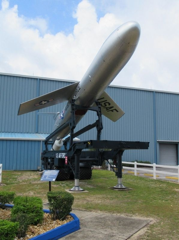 CGM-13 Mace Missile & Marker image. Click for full size.