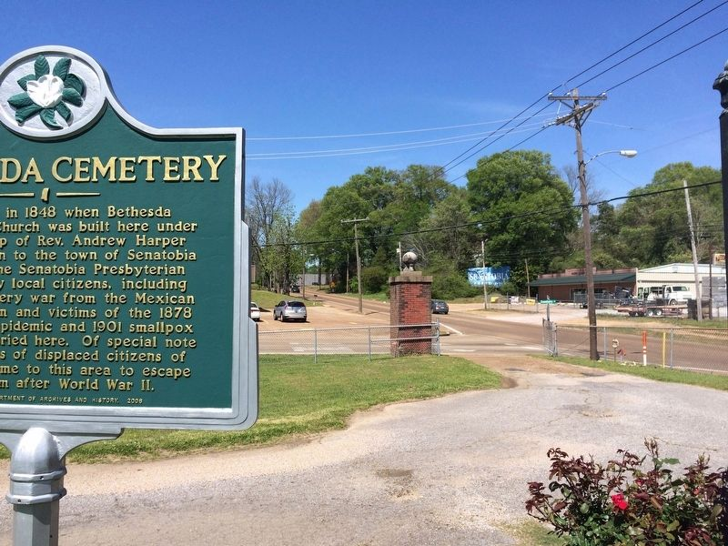 The view from the marker north on U.S. Highway 51. image. Click for full size.