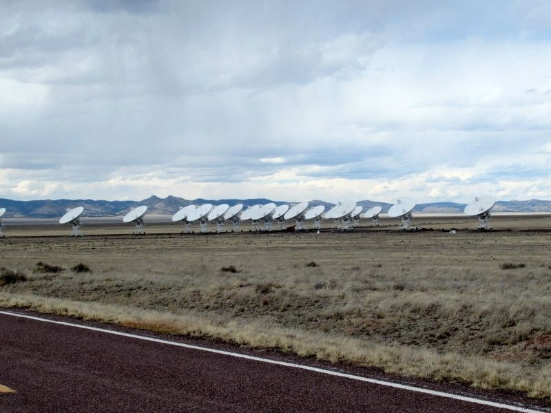 Radio Astronomy Dishes of the Very Large Array image. Click for full size.