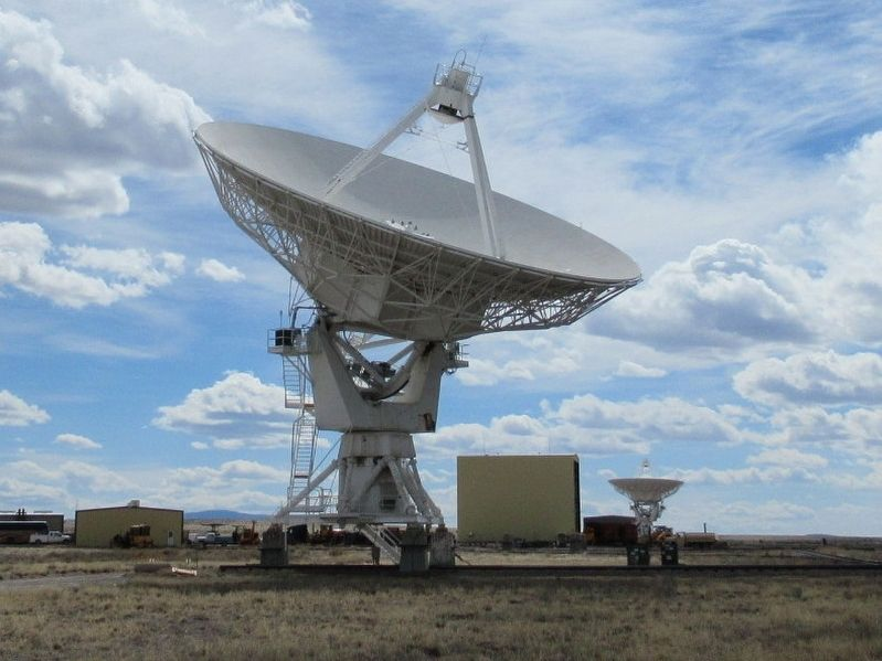 A Radio Astronomy Dish of the Very Large Array image. Click for full size.