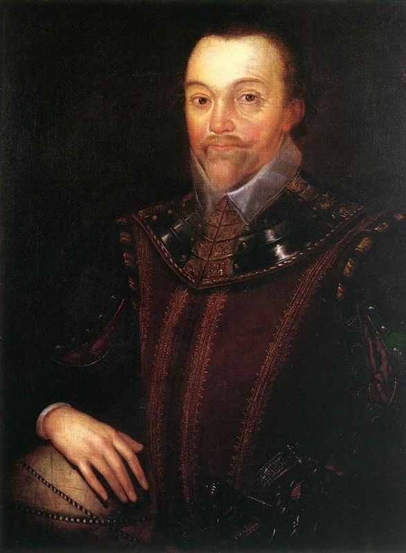 Sir Francis Drake image. Click for full size.
