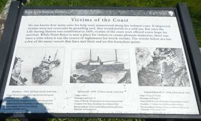 Victims of the Coast Marker image. Click for full size.