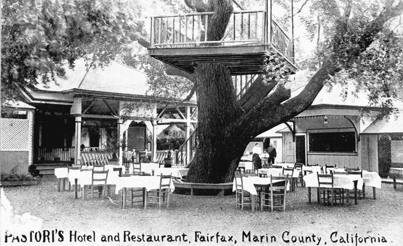 Pastor's Hotel and Restaurant, formerly the home of Charles Snowden Fairfax image. Click for full size.