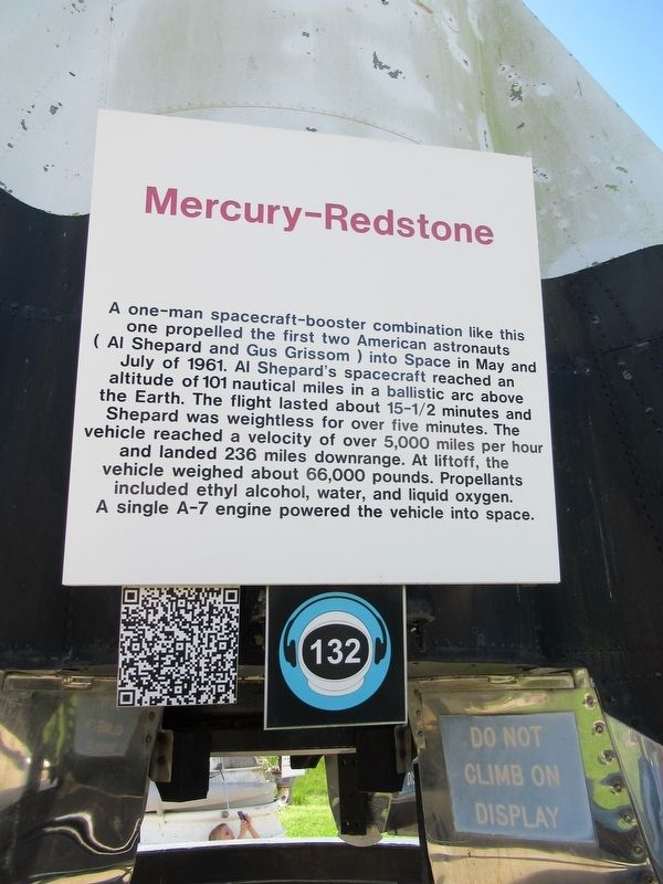 Mercury-Redstone Marker image. Click for full size.