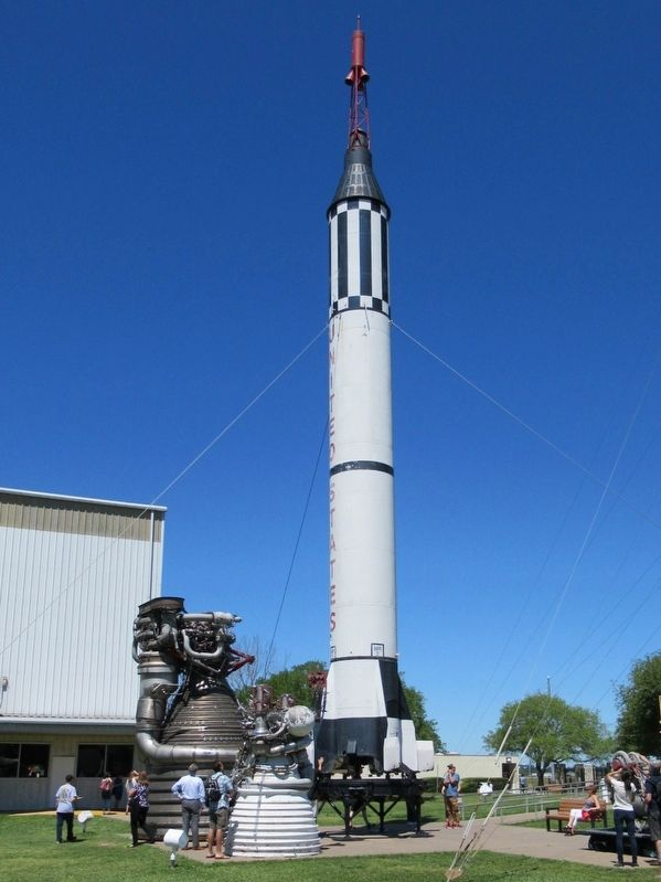 Mercury-Redstone Rocket image. Click for full size.