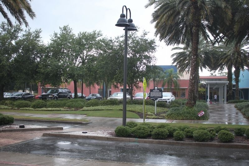 Clearwater Athletic Field Marker and front of Rec Complex image. Click for full size.