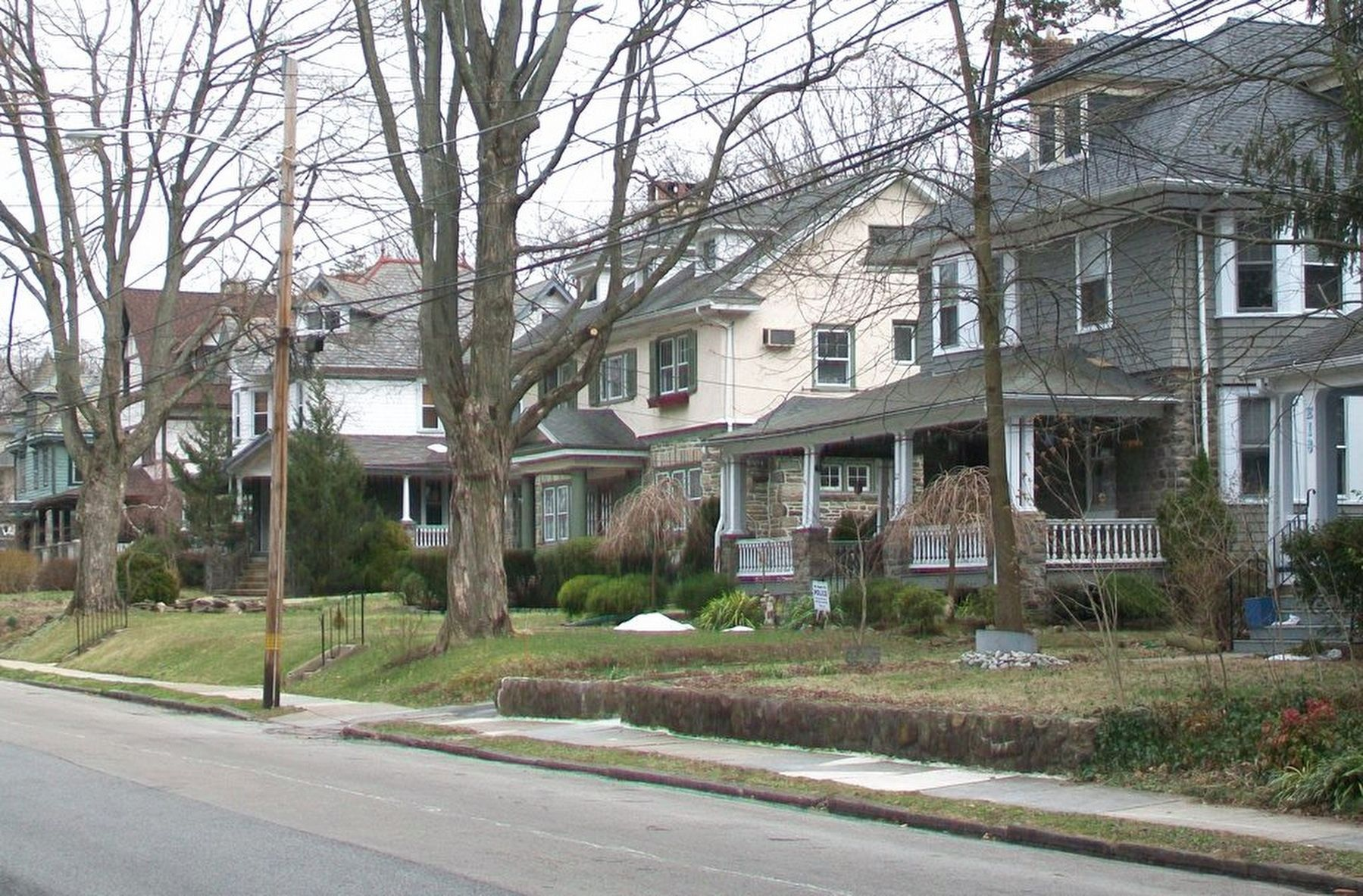 Henry Albertson Subdivision Historic District Homes on Greenwood Avenue image. Click for full size.