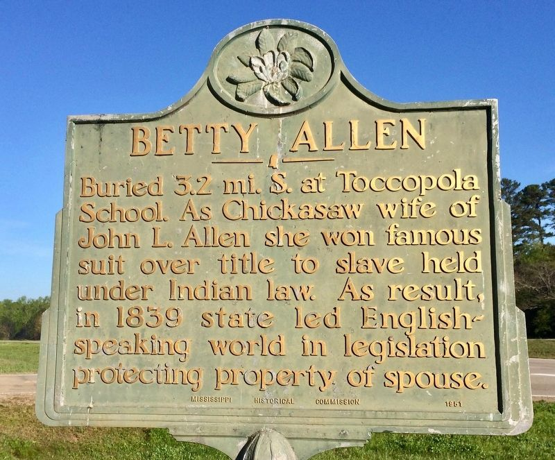 A Betty Allen Marker located about 3 miles north. image. Click for full size.