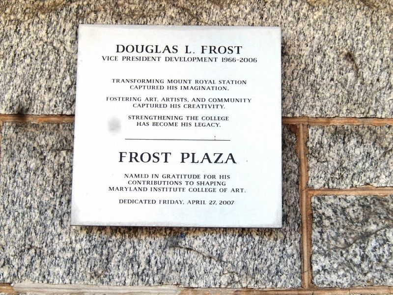 Douglas L. Frost Marker image. Click for full size.