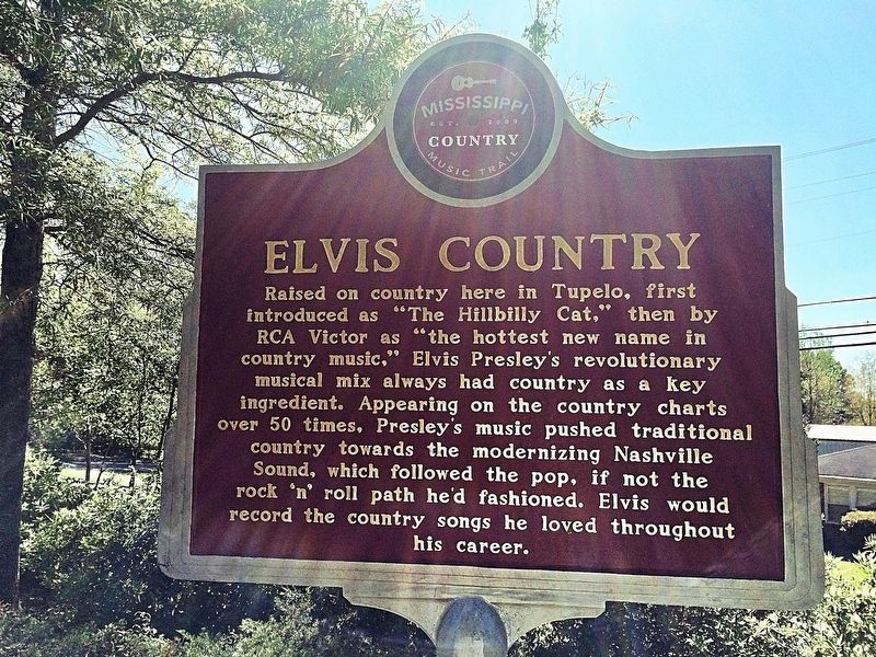 Elvis Country Marker (front) image. Click for full size.