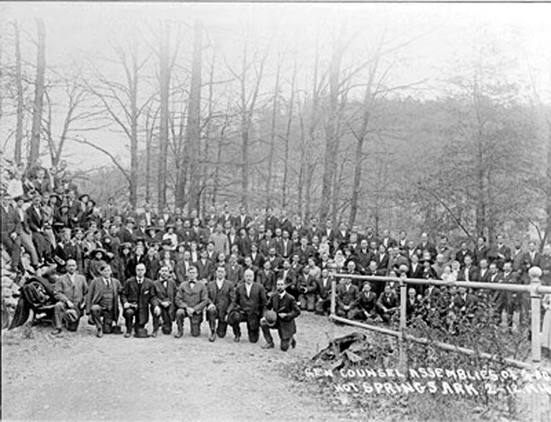 Assemblies of God Founding Convention image. Click for full size.