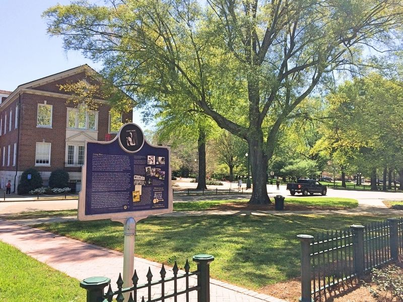View of marker towards Sorority Row. image. Click for full size.