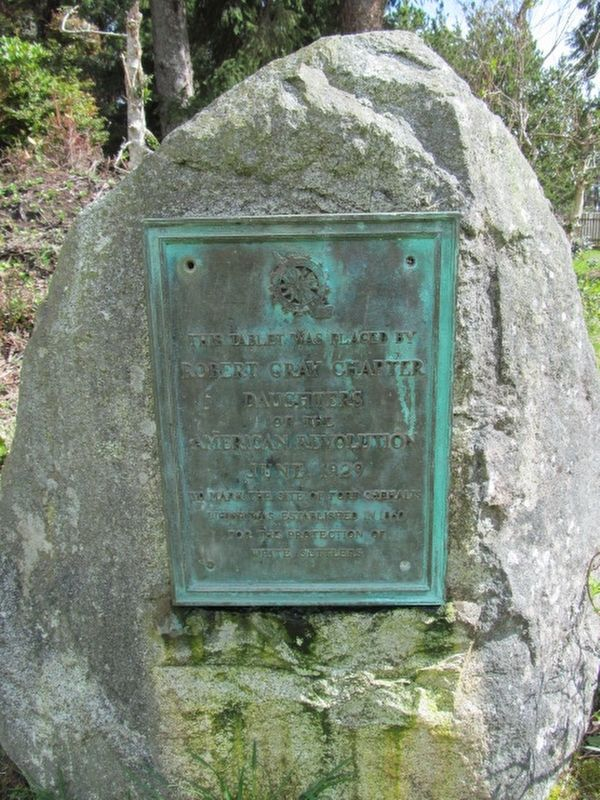FORT CHEHALIS Marker image. Click for full size.
