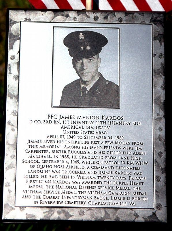PFC James Marion Kardos image. Click for full size.