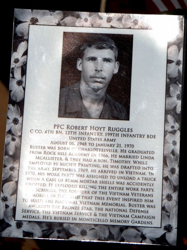 PFC Robert Hoyt Ruggles image. Click for full size.