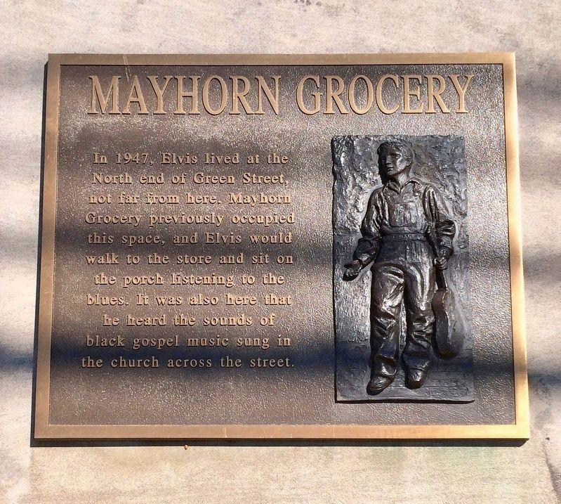 Mayhorn Grocery - Elvis Marker image. Click for full size.