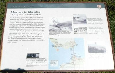 Mortars to Missiles Marker image. Click for full size.