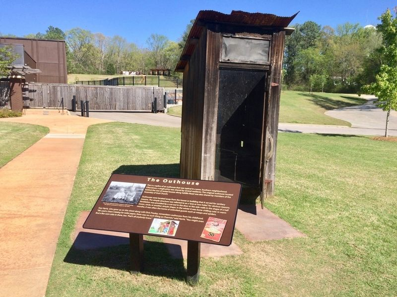 Replica Outhouse image. Click for full size.